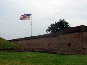 Fort Pulaski - exterior - Savannah Port Journal