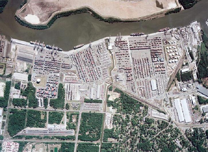 Garden City Terminal - Savannah Port Journal