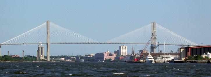Talmadge Bridge - Savannah Port Journal